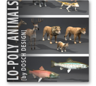 lo-lpoly-animals